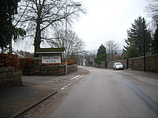 Entrance to Ravenswood