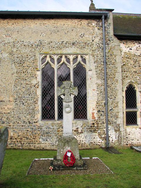 St Michael's church - war memorial