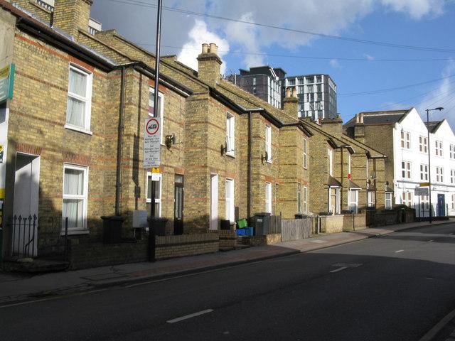 Croydon:  Cadbrooke Terrace, Lower Coombe Street