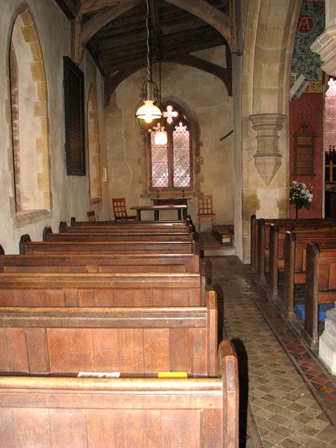St Michael's church - north aisle