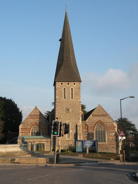 St. Michael the Archangel; the parish church of Braintree