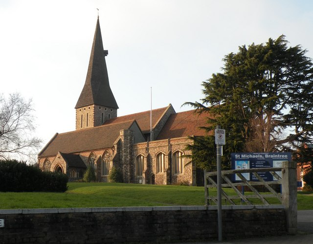 The parish church of St. Michael the Archangel, Braintree