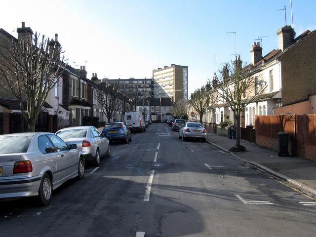 Croydon:  Fawcett Road