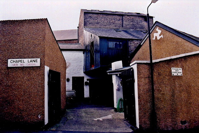 Peel - Chapel Lane - Cluster of four buildings