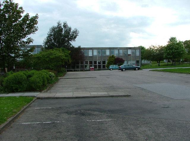 Hilton Campus library carpark