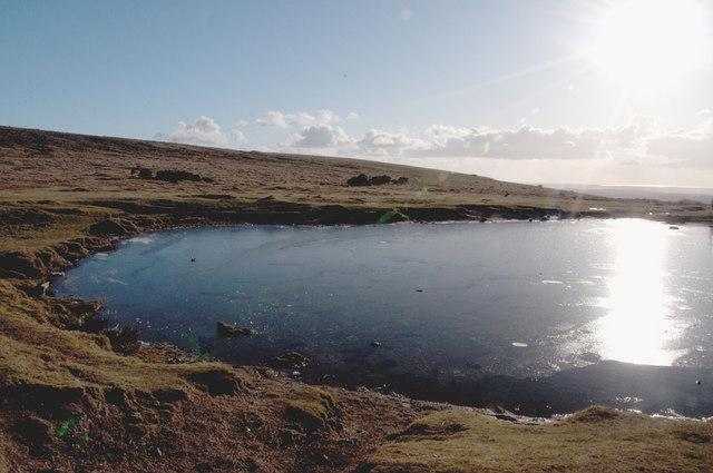 The flank of Sharpitor - Dartmoor