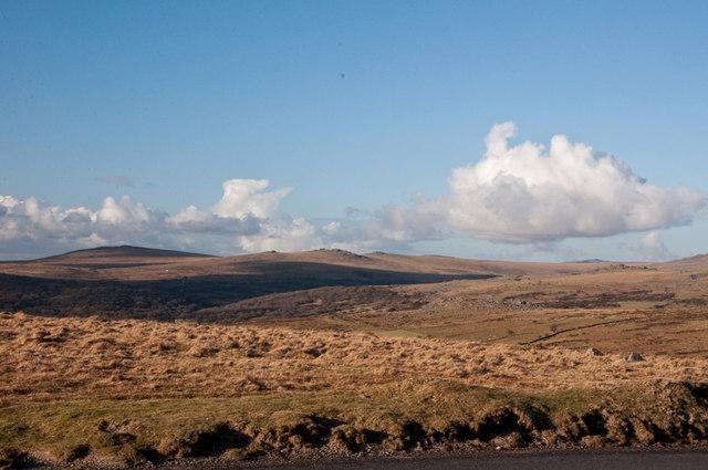 View toward Sampford Spiney from Sharpitor - Dartmoor