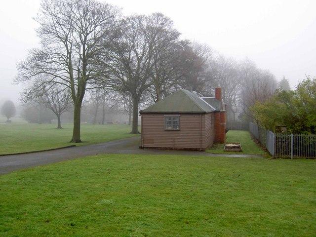 Pavilion in Ladyhill Park, Allerton, Bradford