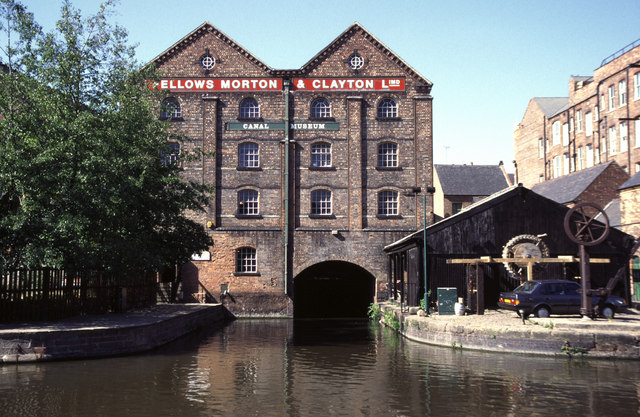 Former Canal Museum, Nottingham