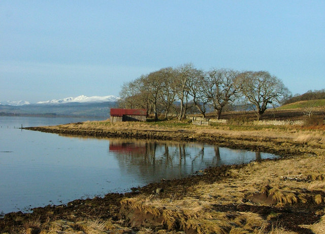 Boathouse on the Beauly Firth