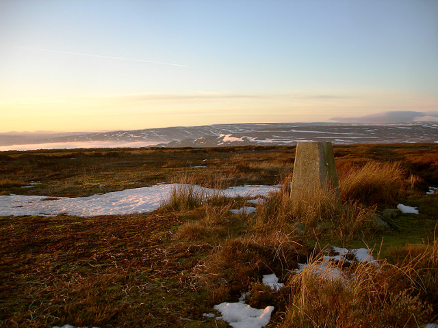 Grey Carrs trig. point