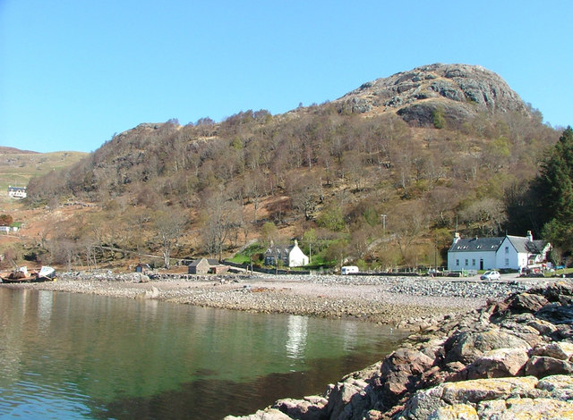 Lower Diabaig from the pier