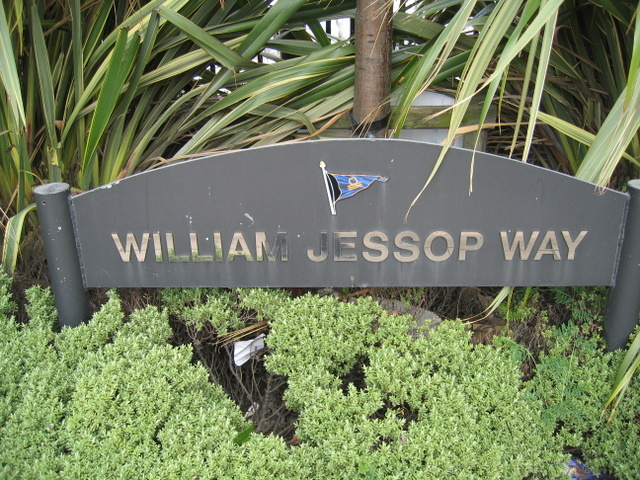 William Jessop Way name plate