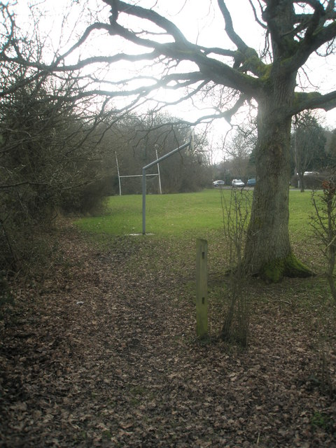 Small recreation ground opposite Abbotts Cottages