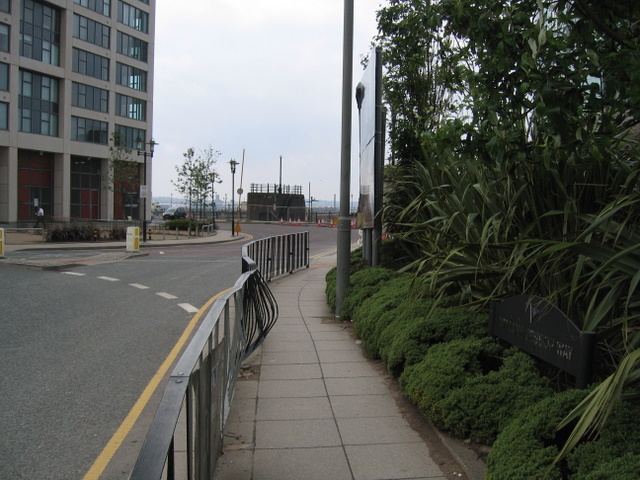 William Jessop Way towards Princes Dock