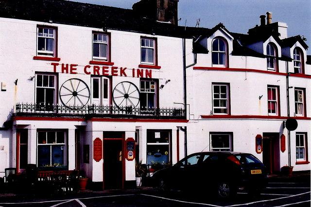 Peel - East Quay - The Creek Inn