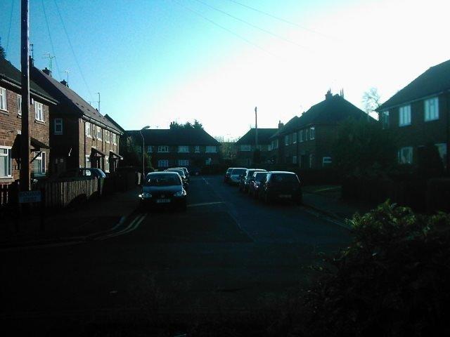 Buchanan Street from River Street, Derby