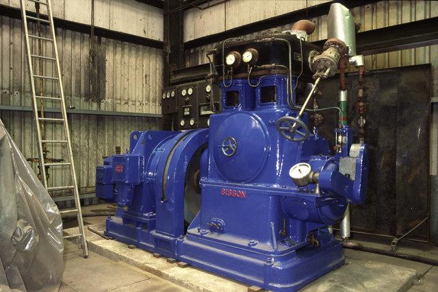 Steam engine, Markham Grange Nursery