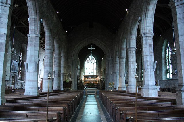 St.Michael & All Angel's nave