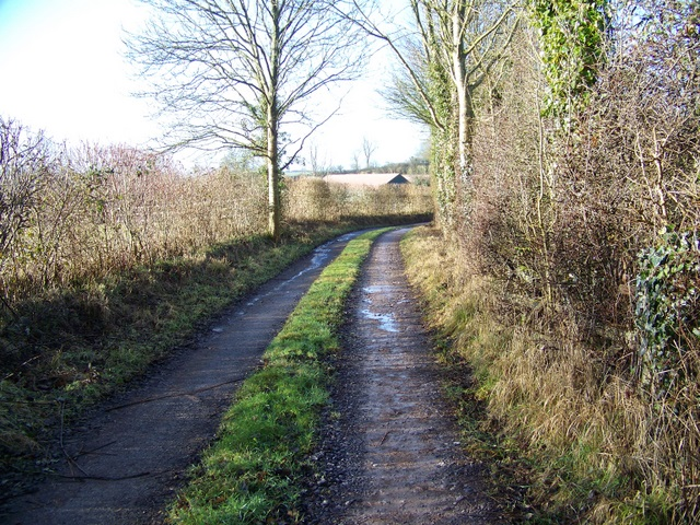 Footpath, Stoke Trister