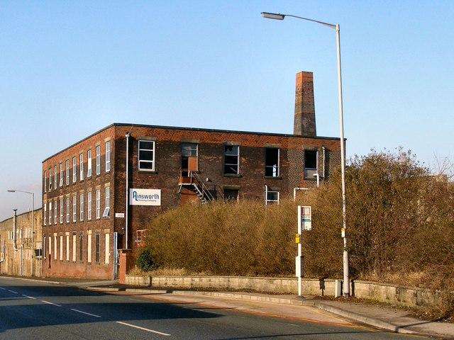 Disused Mill on Bury Road