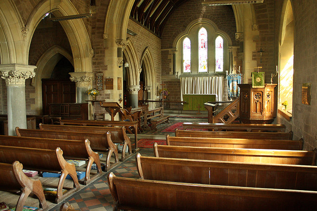 Blaisdon St Michael's Church Interior
