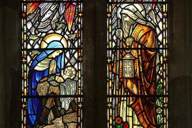 Blaisdon Church Stained Glass Window