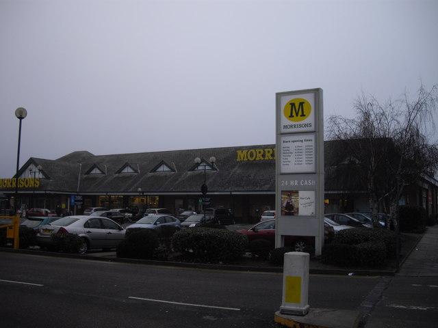 Morrisons supermarket Wood Lane Dagenham