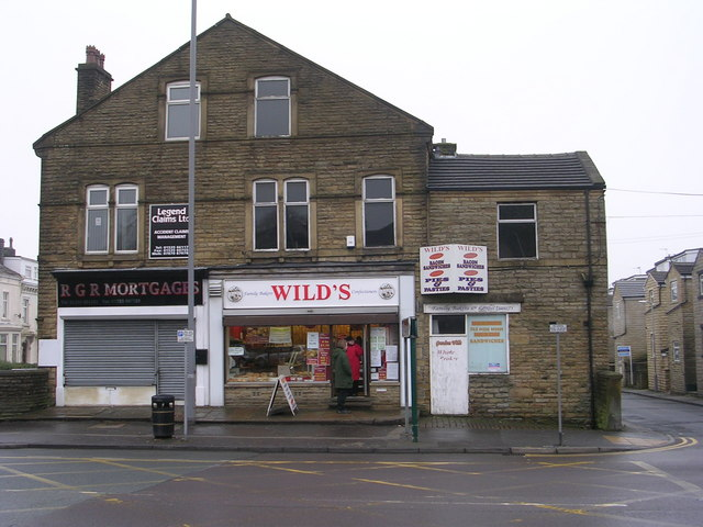 Wild's Confectioners - North Street