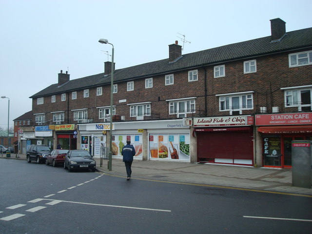 Shops, Chipperfield Road, St Paul's Cray