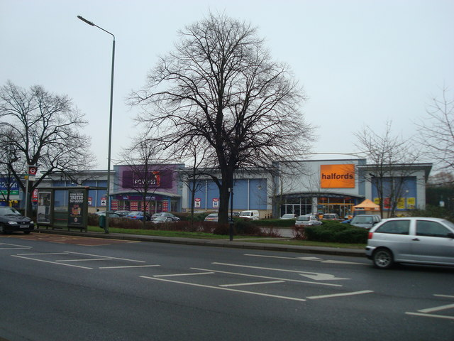 PC World and Halfords, Springvale Retail Park, Sevenoaks Way, St Paul's Cray