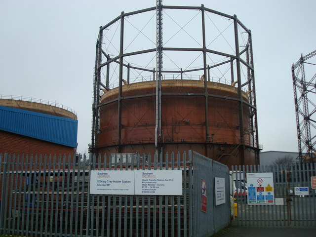 Gas Holder, St Paul's Cray