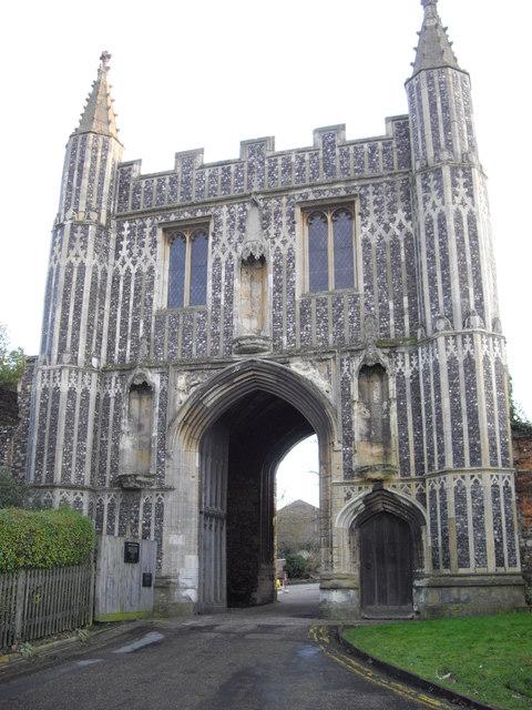 St. John's Abbey Gatehouse Colchester