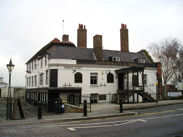 The Three Daws Pub, Gravesend