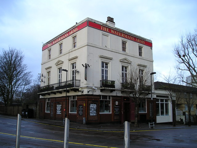 The Watermans Arms Pub, London E14