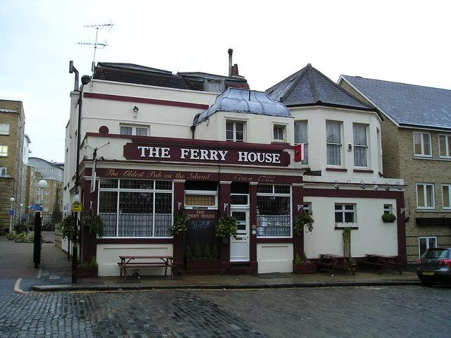 The Ferry House Pub, Isle of Dogs, London E14