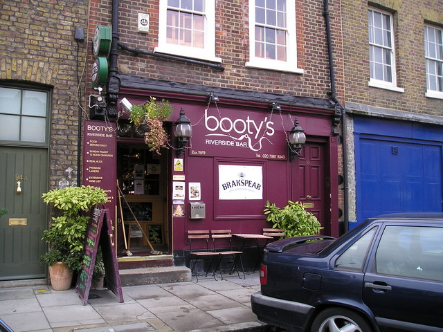 Bootys Bar, Limehouse, London