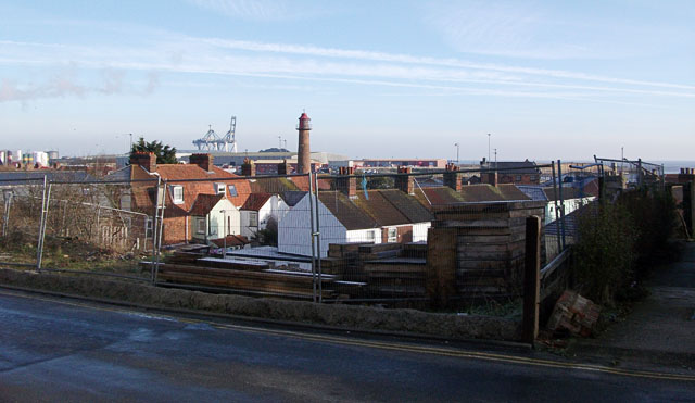 View from Cliff Hill, Gorleston