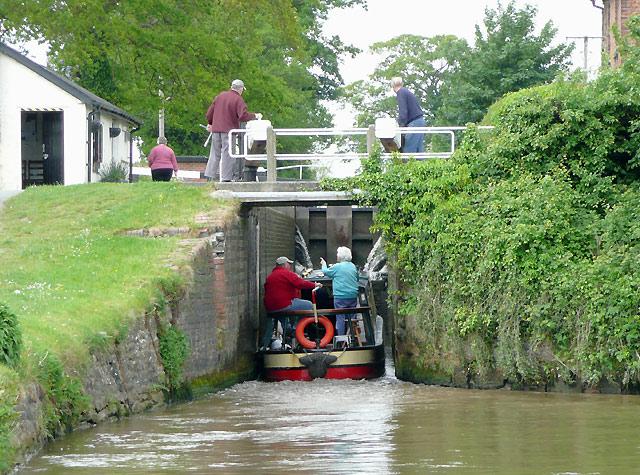 Hurleston Locks No 1, Llangollen Canal, Cheshire