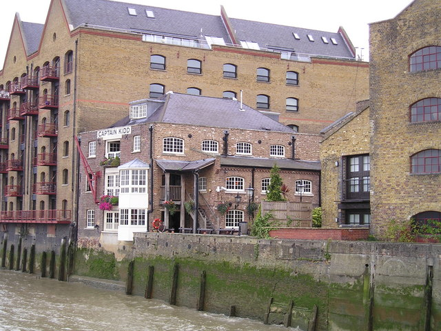 The Captain Kidd Pub, Wapping