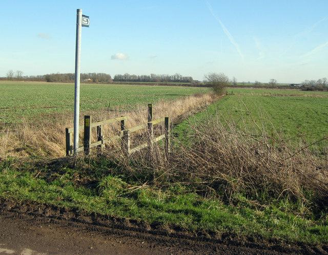 Footpath towards Sadney