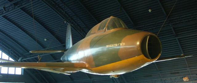 Gloster E28/39, first UK jet aircraft