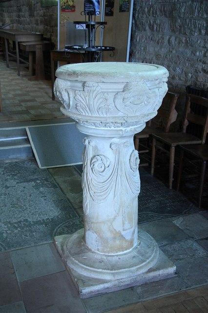 St.Michael & All Angel's font
