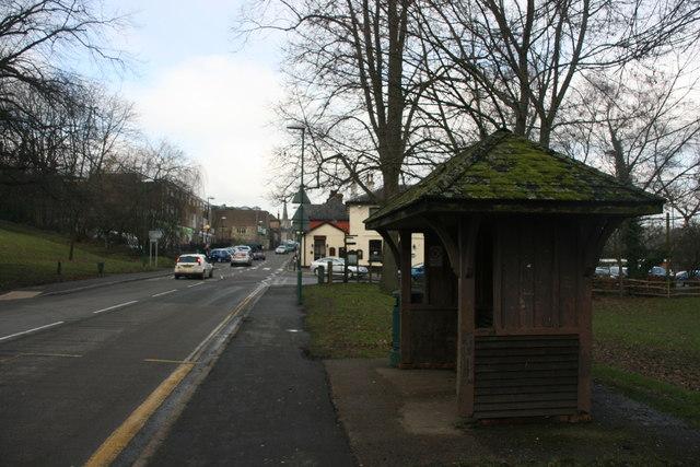 Bus shelter, Hartfield Rd