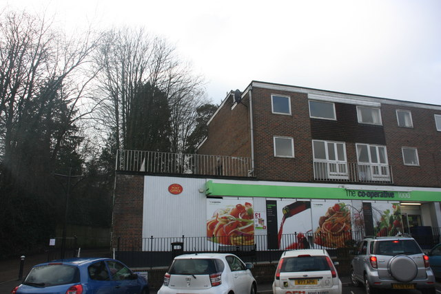 Post Office & Co-operative store, Hartfield Rd