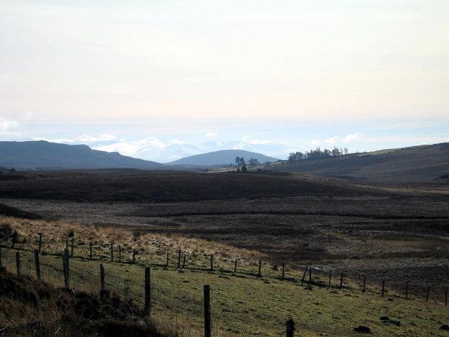 Edge of moorland south of Drumguish