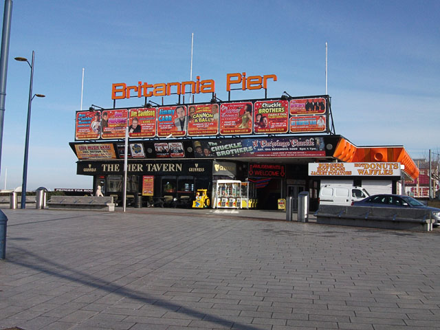 Britannia Pier entrance, Great Yarmouth
