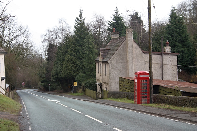 Hollybush telephone kiosk