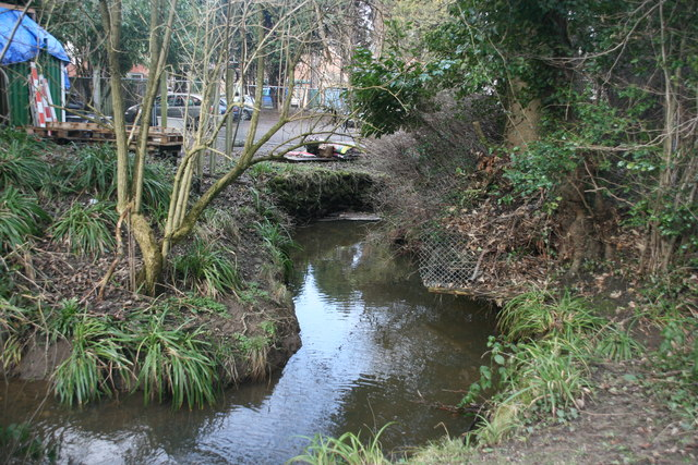 An unnamed tributary of the River Medway in Forest Row