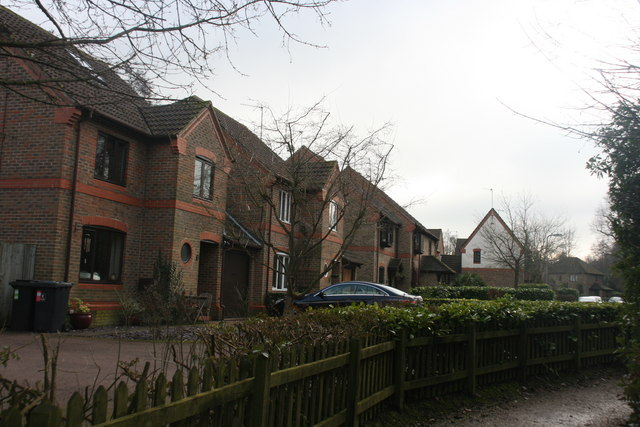 Houses, Swans Ghyll, Forest Row